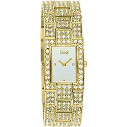 Women's quartz wristwatch D&G Time C'est Chic DW0007