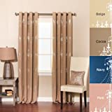 Best Home Fashion Thermal Blackout Curtains - Best Home Fashion Shimmering Chandelier Foil Printed Thermal Review