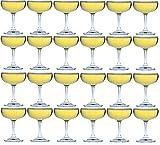 Argon-Geschirr Champagne Saucers - Geschenkbox von of 24 - 180ml - 6.25oz