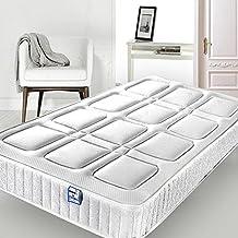 Keinode - Funda para colchón Individual de 90 cm x 190 cm x 24 cm,
