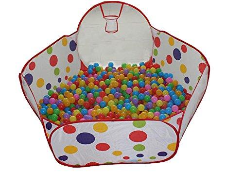 Kids 'Tente pliante de style sûr Océan Ball/plage/piscine Graines de Cassia Play House (1,2 m)