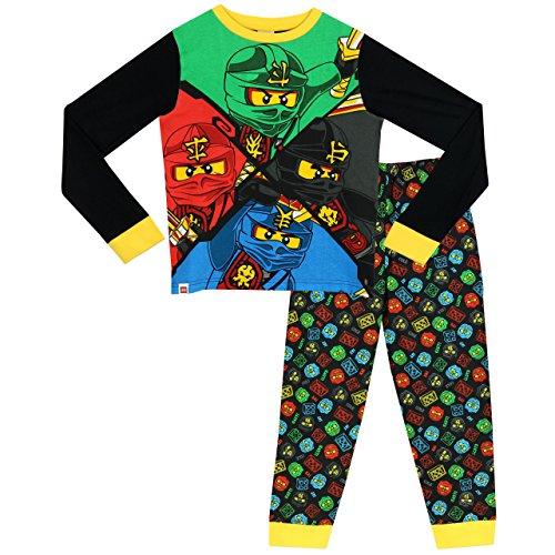 LEGO Jungen Ninjago Schlafanzug 128cm (Ninjago-namen Farben Und)