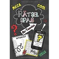Rätselspaß für Teenies: Coolers Rätselbuch für Kinder ab 12: Logicals, Wortsuchrätsel, Labyrinthe, Buchstabenrätsel ...
