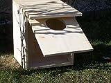 Nistkasten - Brutkasten Holz für Waldkauz, Dohlen, Eulen, Hohltaube