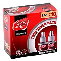 Good Knight Advanced Activ+ Cartridge Twin Saver Pack (Pack Of 2)