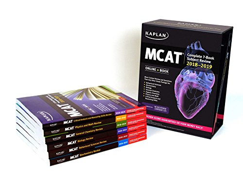 PDF] Download MCAT Complete 7-Book Subject Review 2018-2019: Online