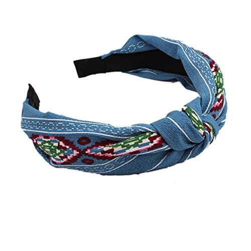 JUNGEN Stoff Haarreif Knoten Haarband Stirnband Damen Kopfbedeckungen Haarschmuck
