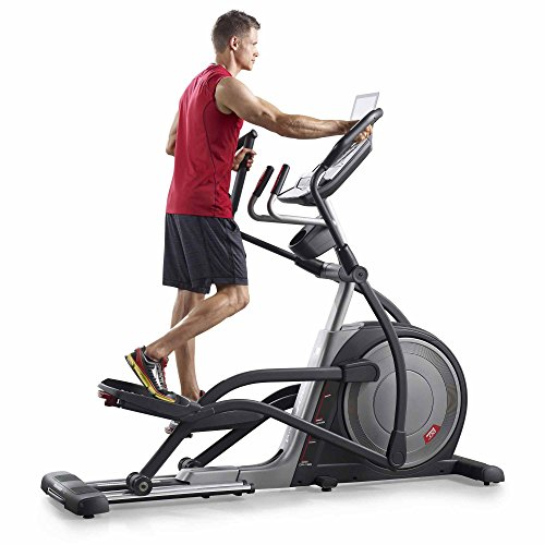 51DrW6jBOcL. SS500  - PRO-FORM Proform Trainer 7.0 Elliptical Bike, Front Wheel, Compatible with Bluetooth App iFit Cardio, Motorised Tilt Ramp 0-20°, 20 Resistance Levels, 28 Programs, Sports Use, Fitness, Well-Being