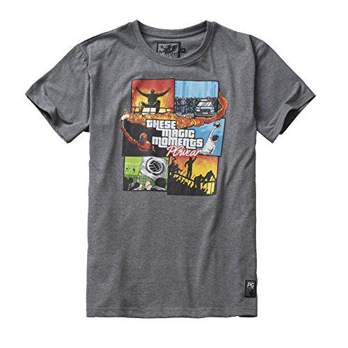 PG Wear Magic Moments gris Camiseta Hombre L