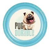 The Secret Life Of Pets Pug Dorable Plastic Plate