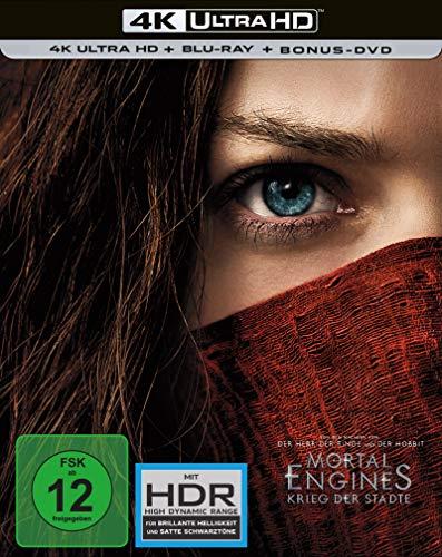 Mortal Engines Krieg der Städte 4K UHD + BD Steelbook...