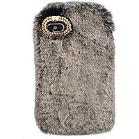 Nadoli Galaxy A8 2018 Hase Pelz Hülle,Kaninchen Pelz Netter Case Warme Flauschige Plüsch Schutzhülle Schutzhülle... preisvergleich bei billige-tabletten.eu