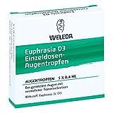 Euphrasia D 3 Einzeldosen-augentropfen 5X0.4 ml