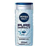 NIVEA MEN Shower Gel Pure Impact 250ml