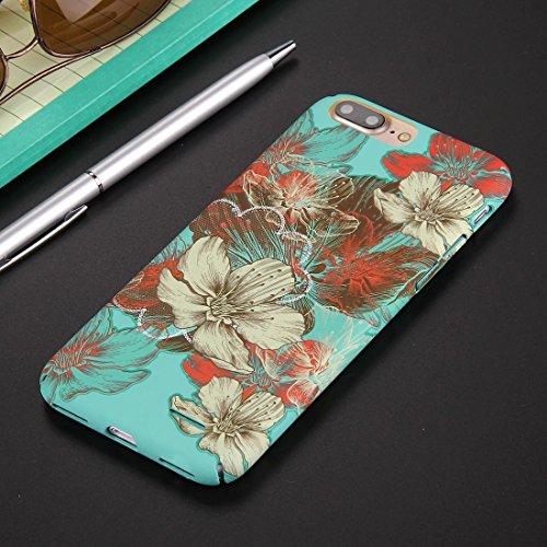 Hülle für iPhone 7 plus , Schutzhülle Für iPhone 7 Plus National Style Blumenmuster PC Schutzhülle ,hülle für iPhone 7 plus , case for iphone 7 plus ( SKU : Ip7p0844d ) Ip7p0844h