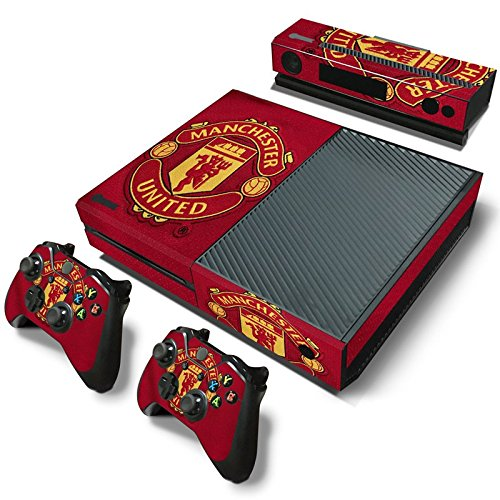 manchester-united-fc-xbox-one-console-2-controllers-skin-sticker-vinyl-decal-set-568