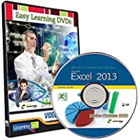 Easy Learning Learn Advanced Formulas and Functions On Excel 2013 Video Course (DVD)