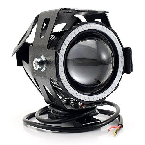 Eximtrade CREE XML LED Scheinwerfer Nebelleuchte Wasserdicht Motorrad Fahrrad LKW ATV (Weiß)