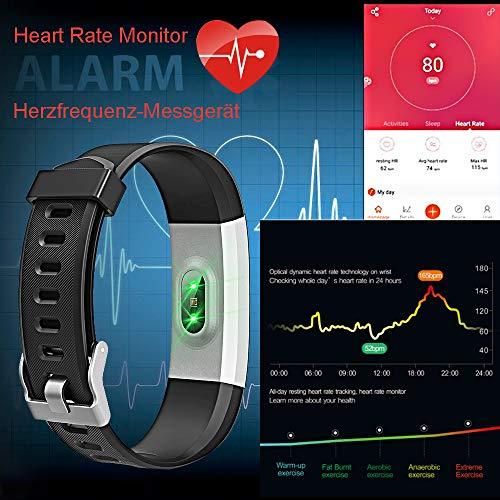 Zoom IMG-3 kungix orologio fitness tracker smartwatch