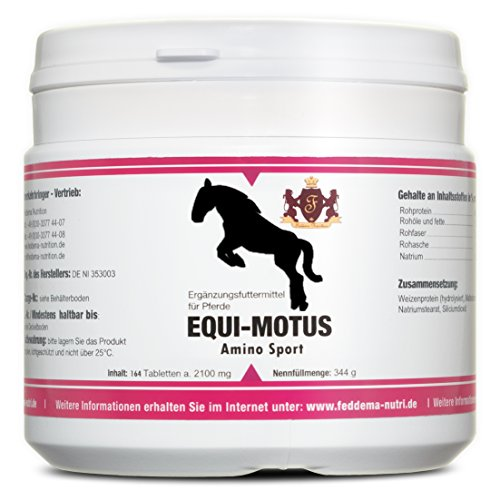 Equi Motus Amino Sport - Ergänzungsfuttermittel der Extraklasse
