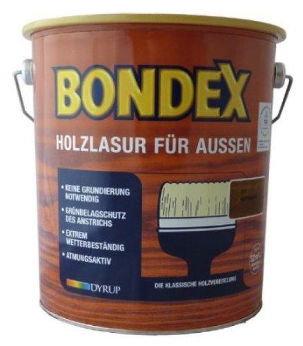 Bondex Holzlasur für Außen Eiche Hell 2,50 l - 329663