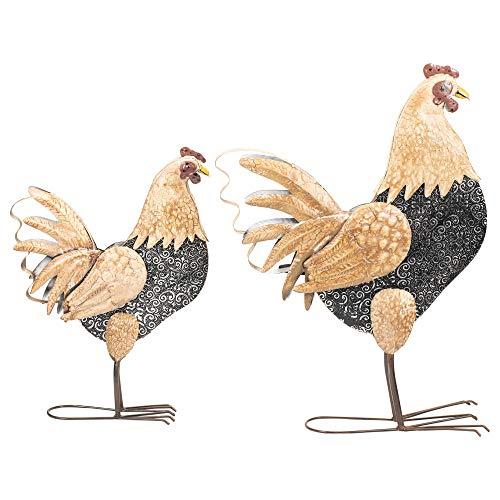 Napco Imports Deko-Figuren stehend, aus Metall und Harz, 2 Stück (Rabatt Halloween Dekor)