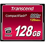 Transcend TS128GCF800 Ultra-Speed Compact Flash 128GB Speicherkarte (800x)