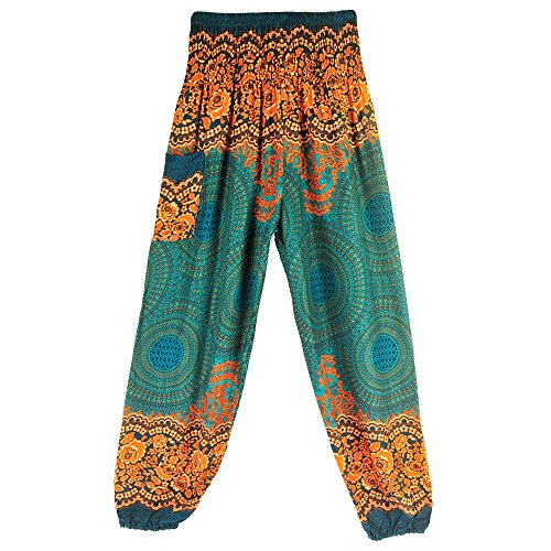 fashion style mode zum selbernaehen YWLINK 2018 Damen Kleidung,MäNner Frauen Thai Harem Hosen Boho Festival Hippie Kittel Hohe Taille Yoga Hosen Laterne Yogahosen