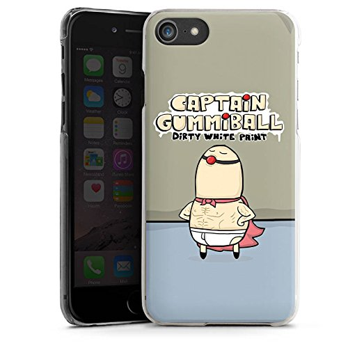Apple iPhone X Silikon Hülle Case Schutzhülle DirtyWhitePaint Fanartikel Merchandise Captain Gummiball Hard Case transparent