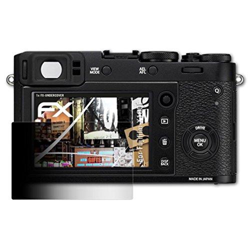 Fujifilm X100F Blickschutzfolie - atFoliX FX-Undercover 4-Wege Sichtschutz Blickschutzfilter Displayschutzfolie