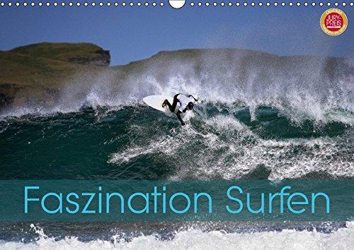 Faszination Surfen (Wandkalender 2017 DIN A3 quer): Faszination Surfen, eingefangen in atemberaubenden Bildern (Monatskalender, 14 Seiten ) (CALVENDO Hobbys)