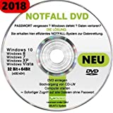 Recovery & Repair CD DVD 2018 f�r WINDOWS 10 Win 8 Windows 7 Vista XP L�sung bei PASSWORT vergessen und Daten verloren ? Windows defekt? Bild