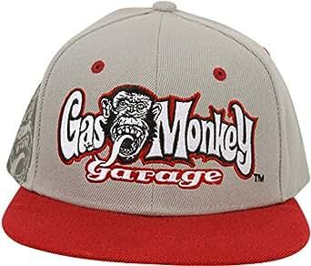 Gas Monkey Garage Cap Snapback RR Hands Gris - connu d