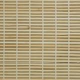 Liedeco Rollo Holz mit Seitenzug, Holzrollo für Fenster und Tür natur, 140 cm x 170 cm (B x L)