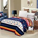Super Soft New Crysta 3rd Generation Blanket Fancy & Durable Design Double Bed AC Blanket_(Made In India)(210 Cm X 240cm)(Pack Of 1 Piece)