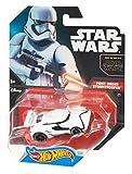 Hot Wheels DRL01 Star Wars Character Car - Fahrzeug First Order Storm Trooper