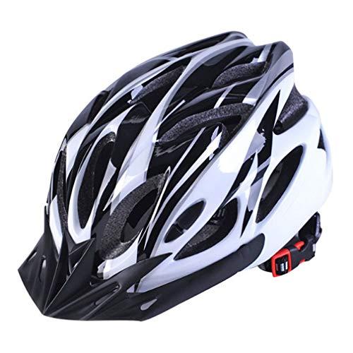 Cascos de Bicicleta Mate Negro Hombres Mujeres Casco de Ciclismo Luz de Fondo MTB Mountain Road Bike Cascos de Bicicleta Moldeados integralmente