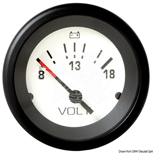 Osculati Voltmeter 8/18V Teleflex -