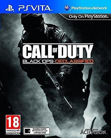 Console Playstation Vita Wifi + Call of Duty : Black Ops Declassified voucher + Carte Mémoire 4 Go