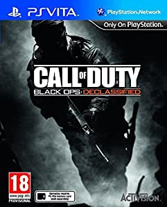 Console Playstation Vita Wifi + Call of Duty : Black Ops Declassified voucher + Carte Mémoire 4 Go