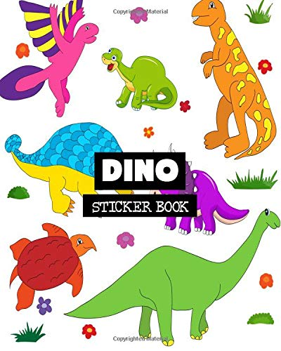 Dino: Sticker Book: Volume 12