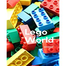 Lego World Notebook: Blank Book for Kids,children Workbook,gift for Boys,lego Lovers,diary,planner,toy,art Game