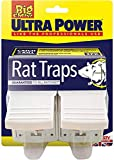 STV International The Big Cheese Ultra Power Trap Kit for Rats (Powerful, Lockable, Baited, Plastic Rodent Pest Station, Protects Children and Pets from Traps, Suitable for Use Indoors and Outdoors)