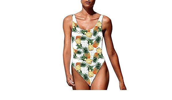 Maillot de bain 1 pièce imprimé ananas Romane – achat pas