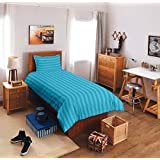 Reliable Trends Plain Stripe Single Elastic Fitted Bedsheets
