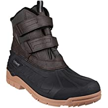 Cotswold Mens Castor Touch Fastening Rubber Upper Canadian Snow Boots
