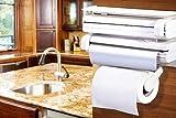 #6: Japp Triple Paper Dispenser - For Cling Film Wrap Aluminium Foil & Kitchen Roll
