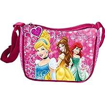 b313ca4547 Star Licensing Disney Princess Tracolla Borsa Messenger, 19 cm, Multicolore