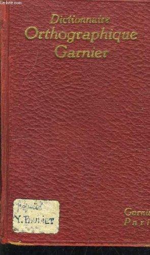 dictionnaire-ortographique-garnier-3eme-edition