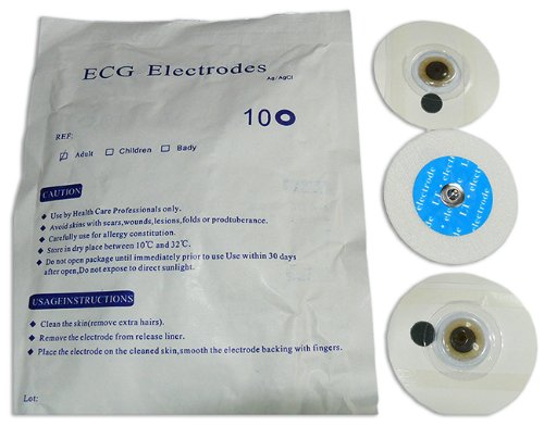 10 EKG-Klebeelektroden